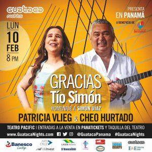 Patricia Vlieg y Cheo Hurtado: Gracias Tío Simón