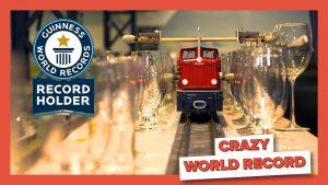 Tren melódico rompe Record Guinness