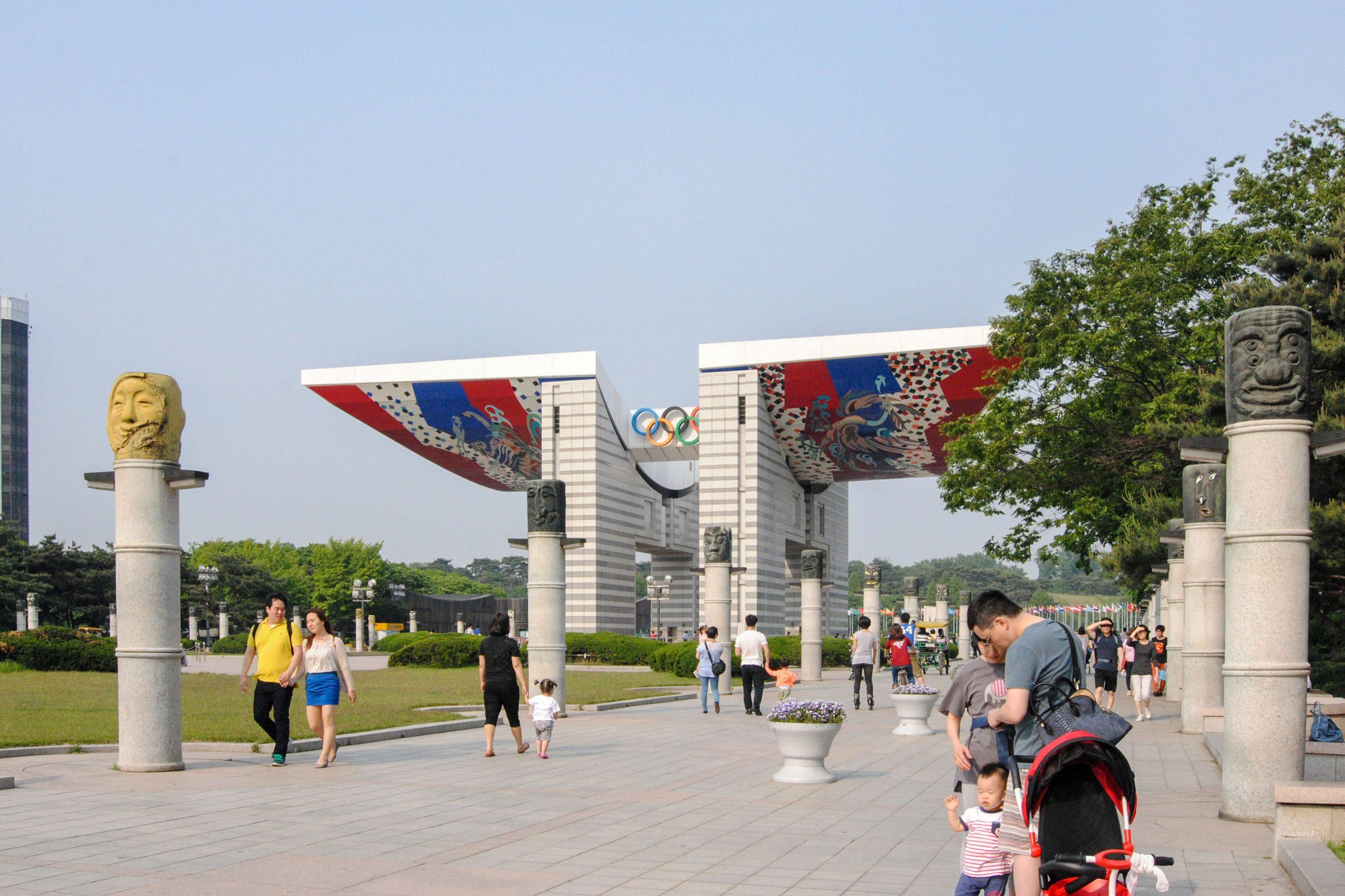 Parque Olímpico Seúl, Corea del Sur